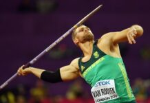Rocco Van Rooyen (foto world athletics)