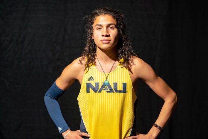 Luis Grijalva (foto NAU athletics)