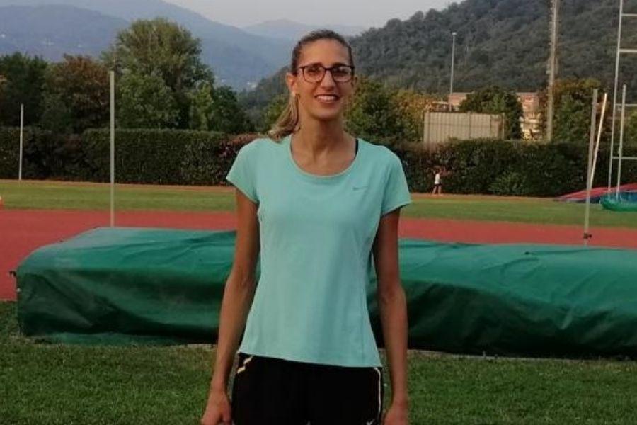 Alessia Trost-campo CONI di Camerlata (foto La Provincia di Como)