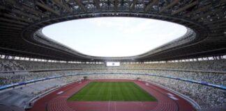 Stadio Olimpico Tokyo (foto Franck Robichon/ANSA)