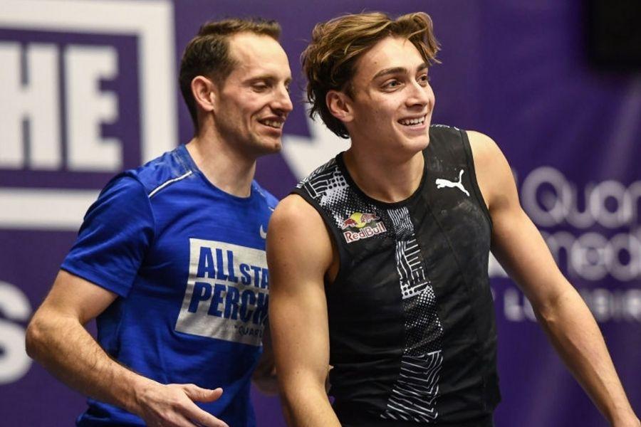 Renaud Lavillenie-Armand Duplantis (foto world athletics)