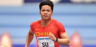 Su Bingtian (foto World Athletics)