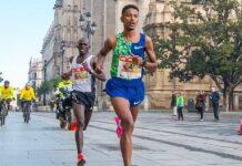 Eyob Faniel (foto maratona Siviglia 2020)