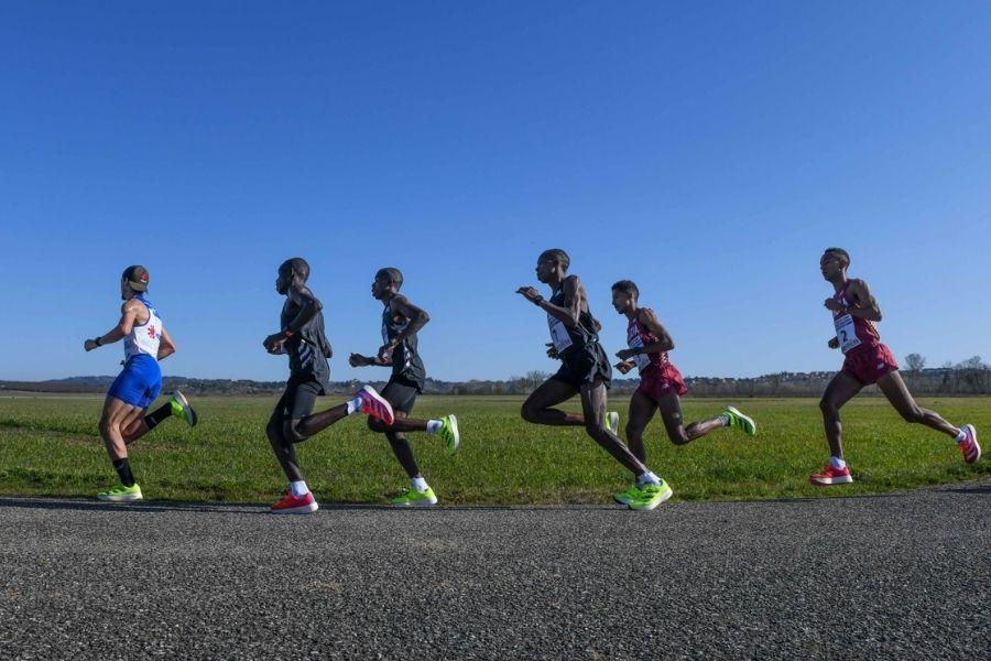 mezza maratona-aeroporto Siena 28 febbraio (foto Grana)