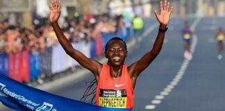 Ruth Chepngetich (foto archivio maratona Dubai)