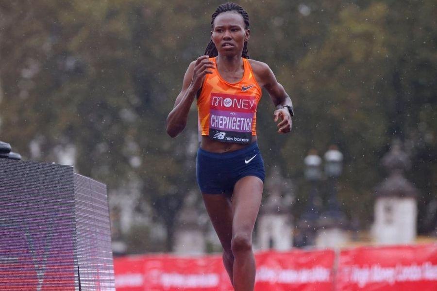 Ruth Chepngetich (foto Kolay Istanbul Half Marathon)