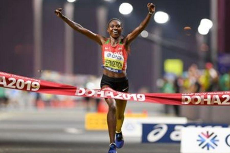 Ruth Chepngetich (foto World Athletics)