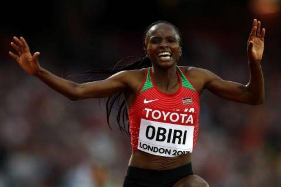 Hellen Obiri (foto Patrick Smith)