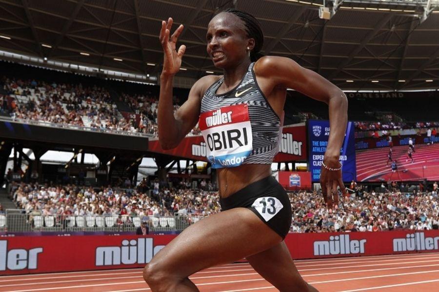 Hellen Obiri (foto World Athletics)