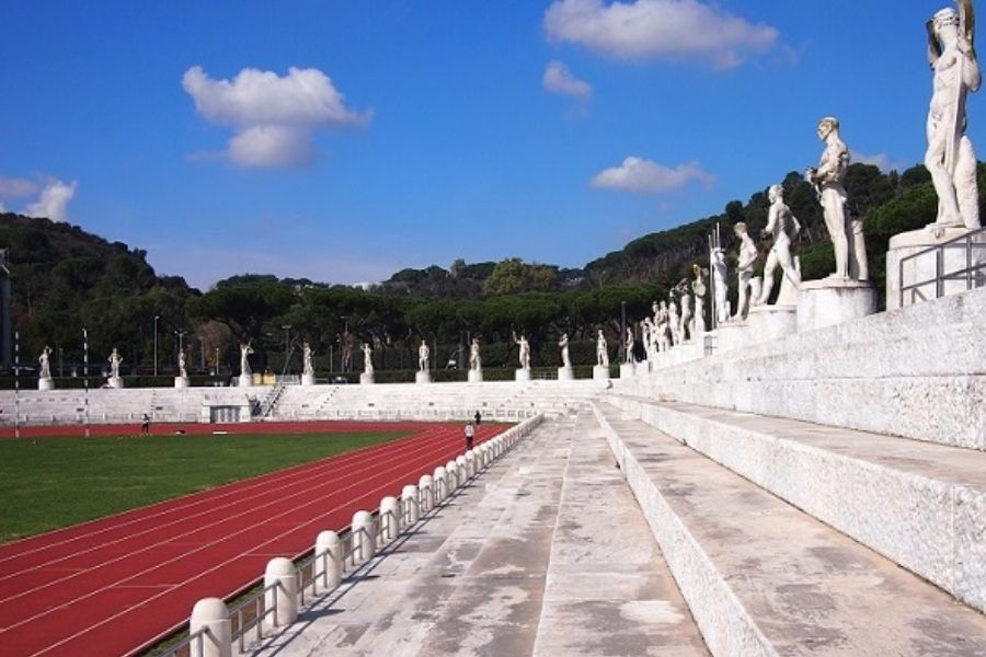 Stadio dei Marmi Pietro Mennea (foto archivio)