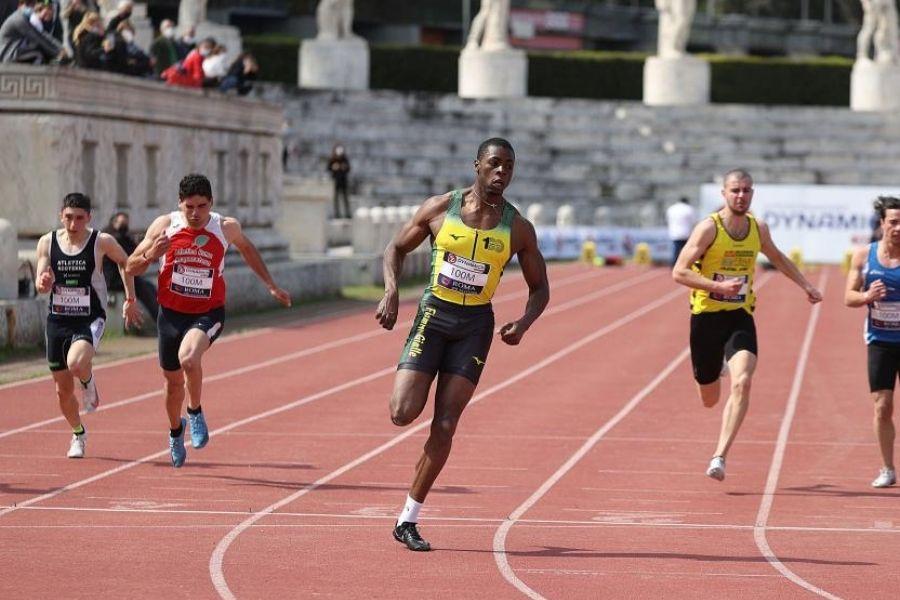 Chituru Ali (foto Colombo/Roma Sprint Festival)
