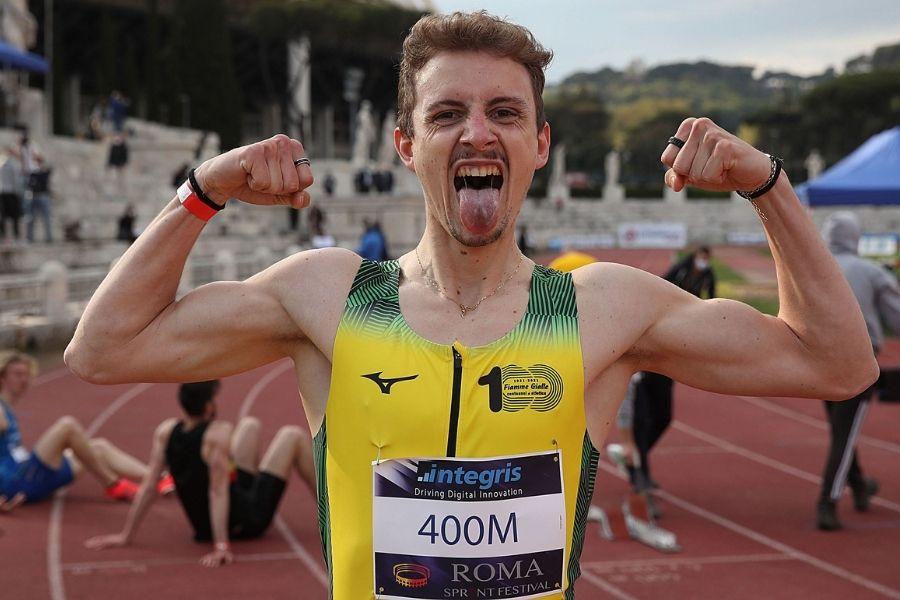 Alessandro Sibilio (foto Colombo/Roma Sprint Festival)