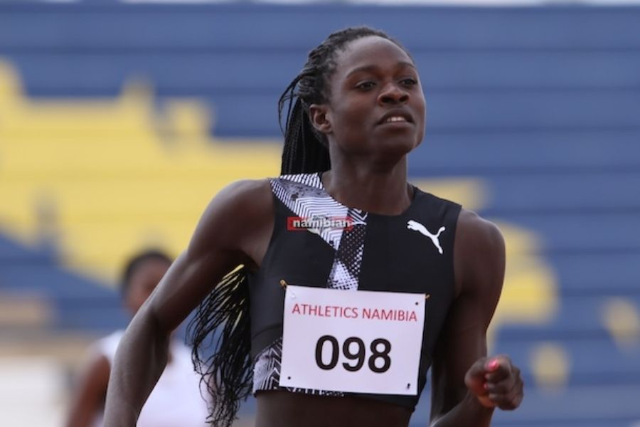 Christine Mboma (foto Helge Schutz)