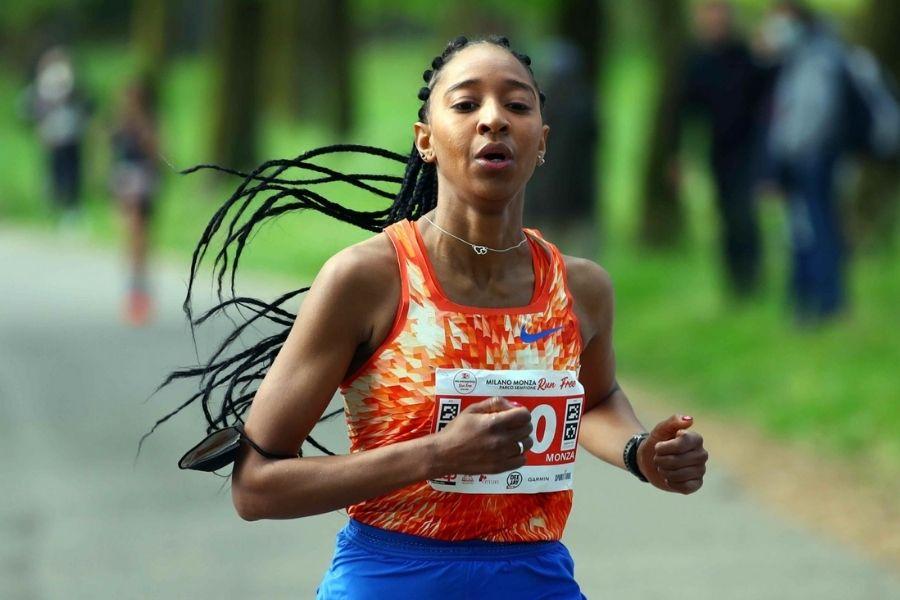 Najla Aqdeir (foto Milano&Monza Run Free )