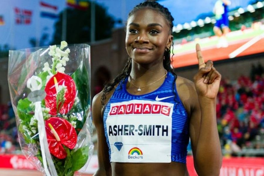 Dina Asher-Smith (foto World Athletics)