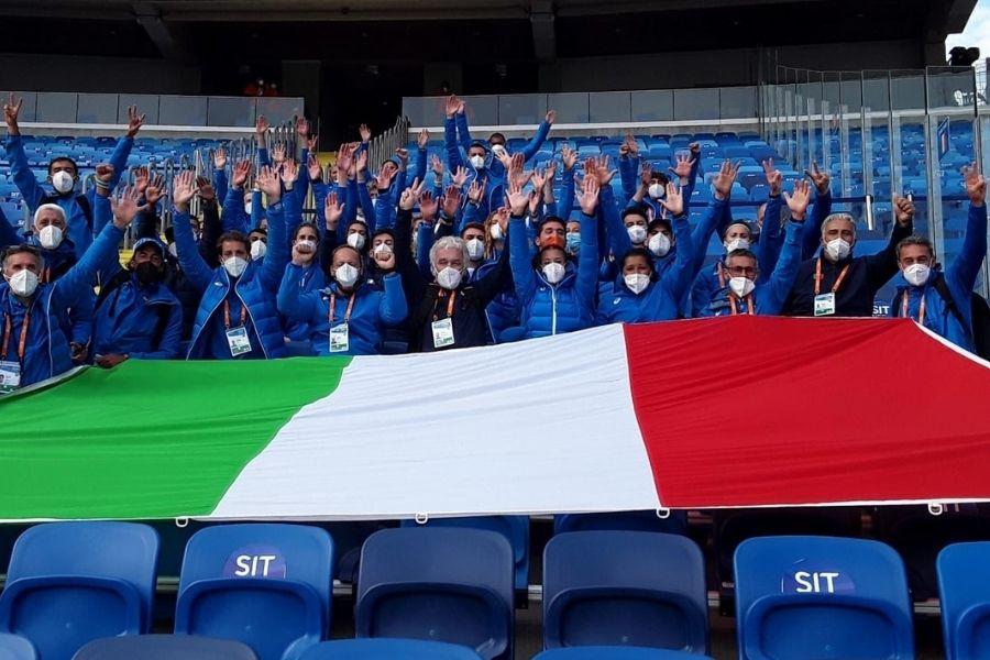 Squadra azzurra Chorzow (foto Colombo/FIDAL)