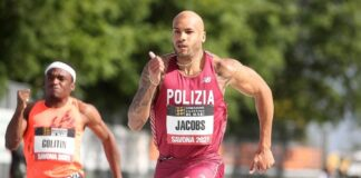 Marcell Jacobs (foto Colombo/meeting Savona)