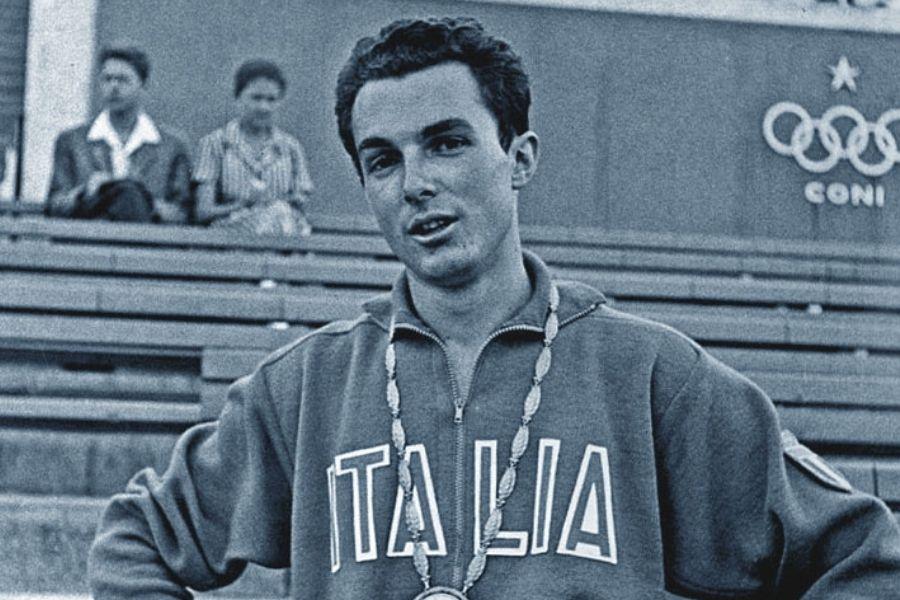 Livio Berruti (foto archivio Olimpiadi Roma 1960)
