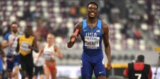 Michael Cherry (foto World Athletics)