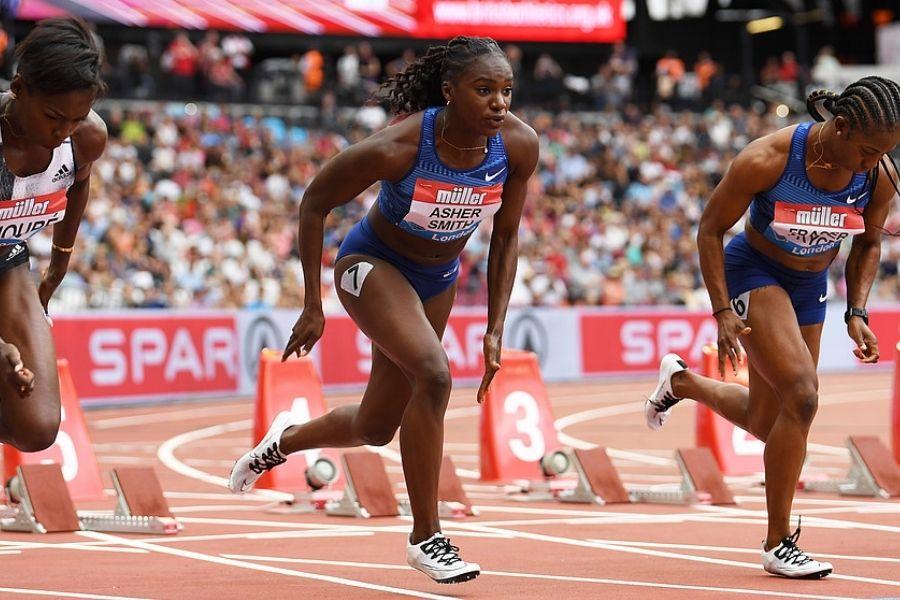Dina Asher-Smith (foto World Athletics)