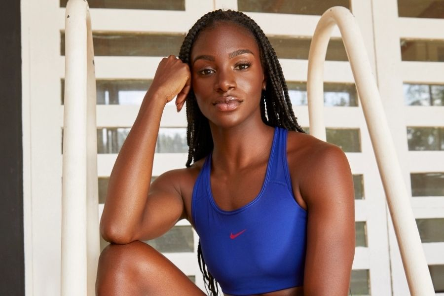 Dina Asher-Smith (foto Carla Guler)