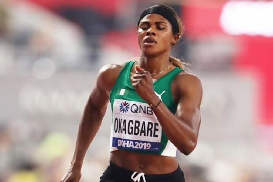 Blessing Okagbare (foto World Athletics)