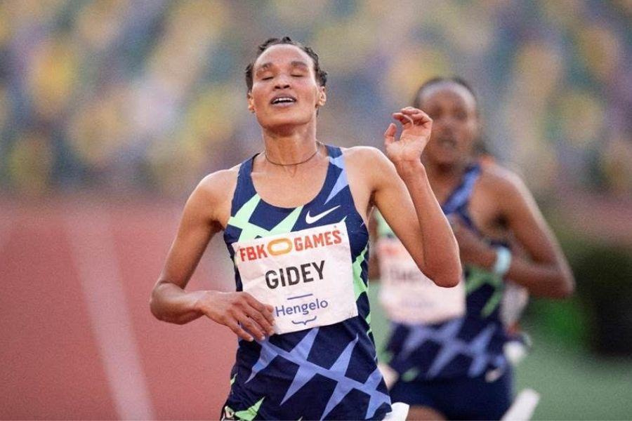 Letesenbet Gidey (foto organizzatori/Hengelo))