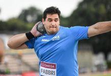 Leonardo Fabbri (foto Grana/FIDAL)