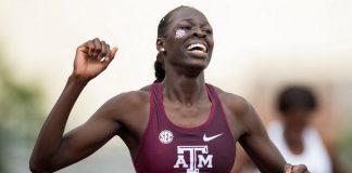 Athing Mu (foto Texas A&M Athletics)
