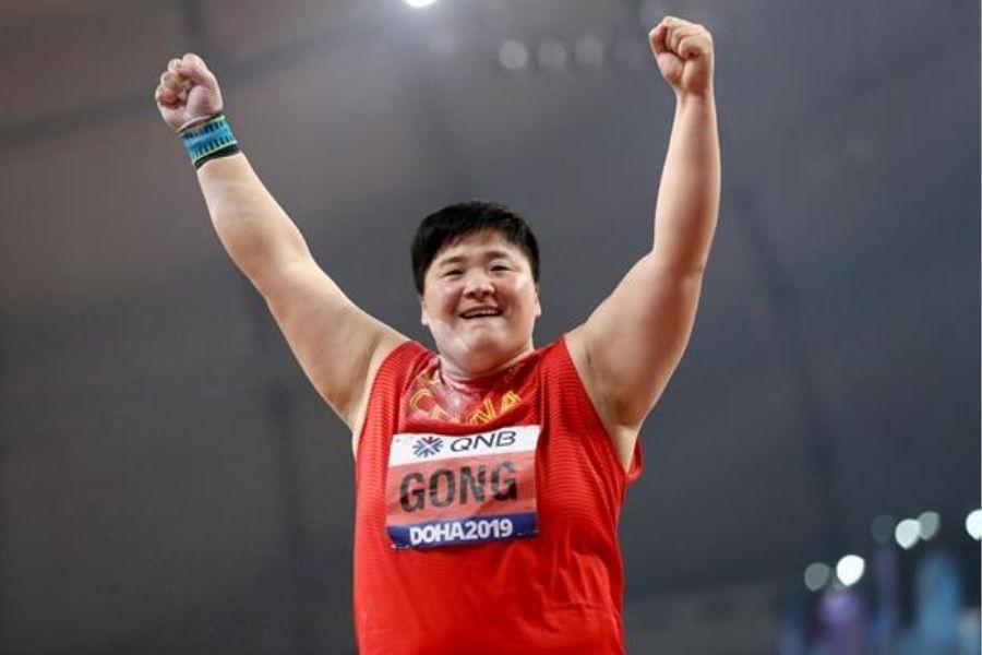 Gong Lijao (foto World Athletics)