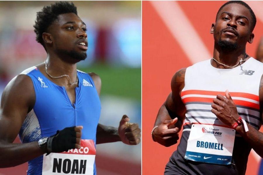 Noah Lyles-Trayvon Bromell (foto World Athletics)