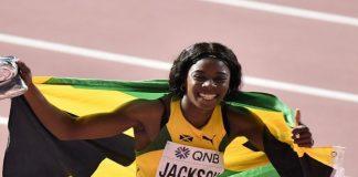 Shericka Jackson (foto World Athletics)