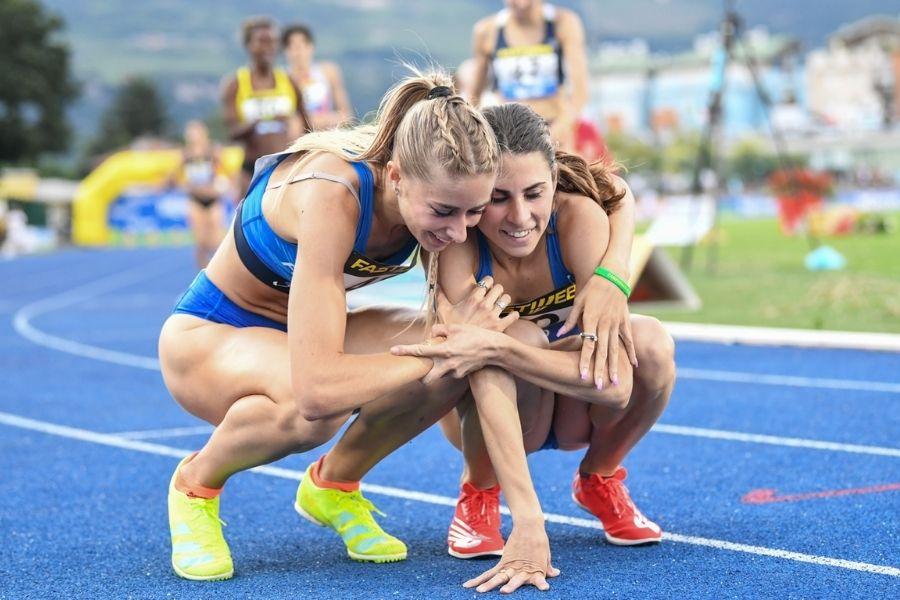 Gaia Sabbatini-Elena Bellò (foto Grana/FIDAL)