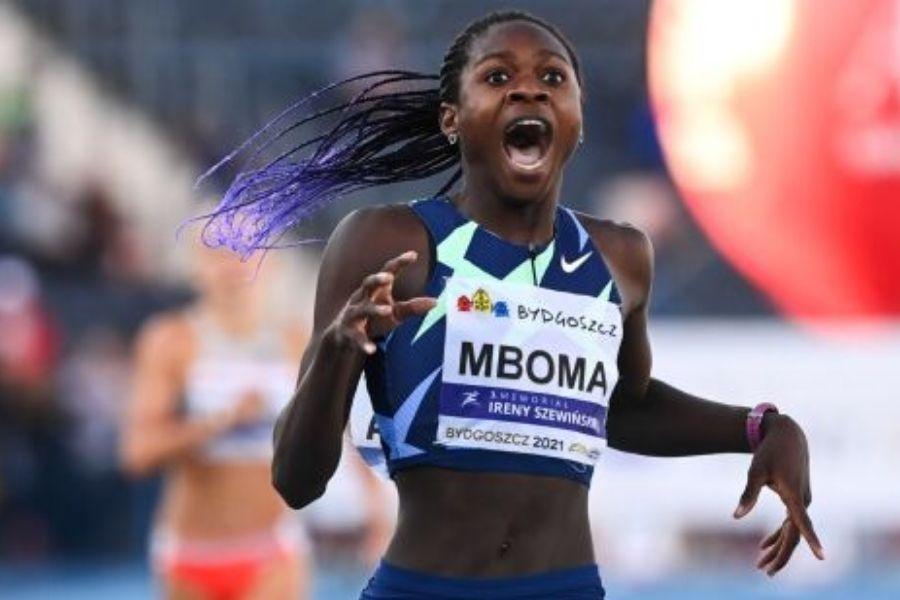 Christine Mboma (foto World Athletics)