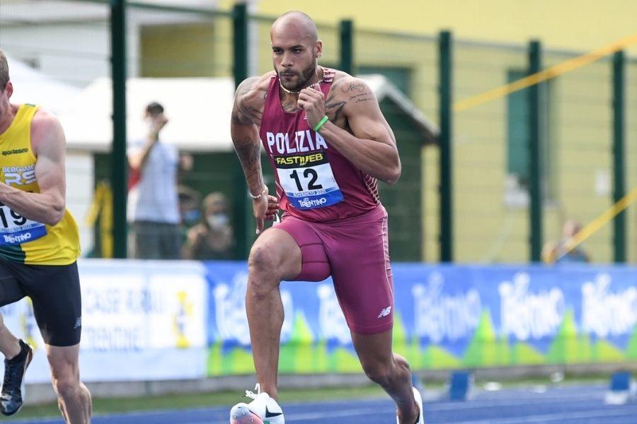 Marcell Jacobs (foto Grana/FIDAL)