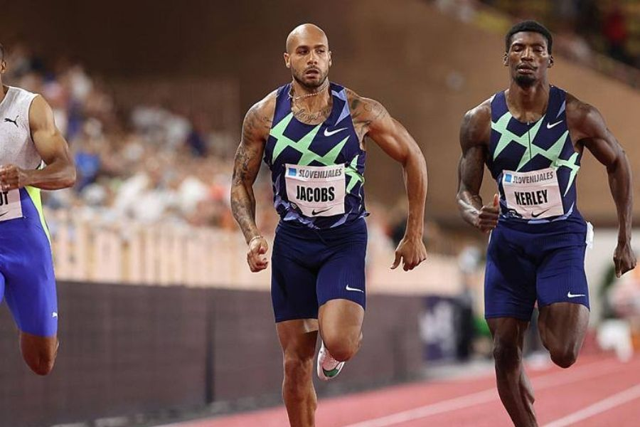 Marcell Jacobs (foto World Athletics)