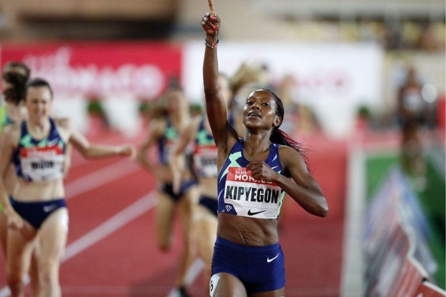 Faith Kipyegon (foto Herculis meeting 2021)