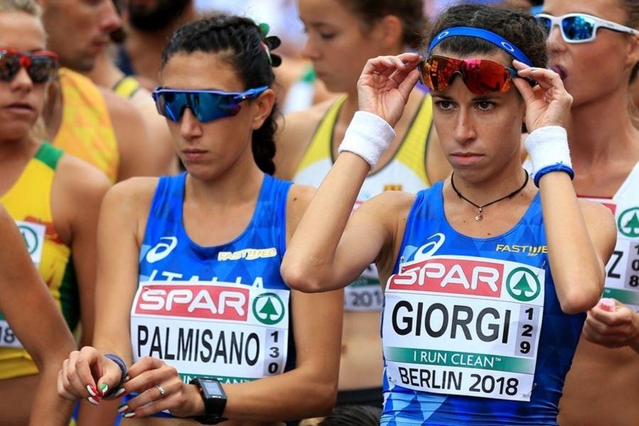 Antonella Palmisano-Eleonora Giorgi (foto Europei Berlino 2018/FIDAL)