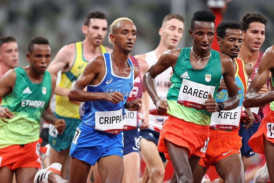 Yeman Crippa-Selemon Barega (foto Colombo/FIDAL)
