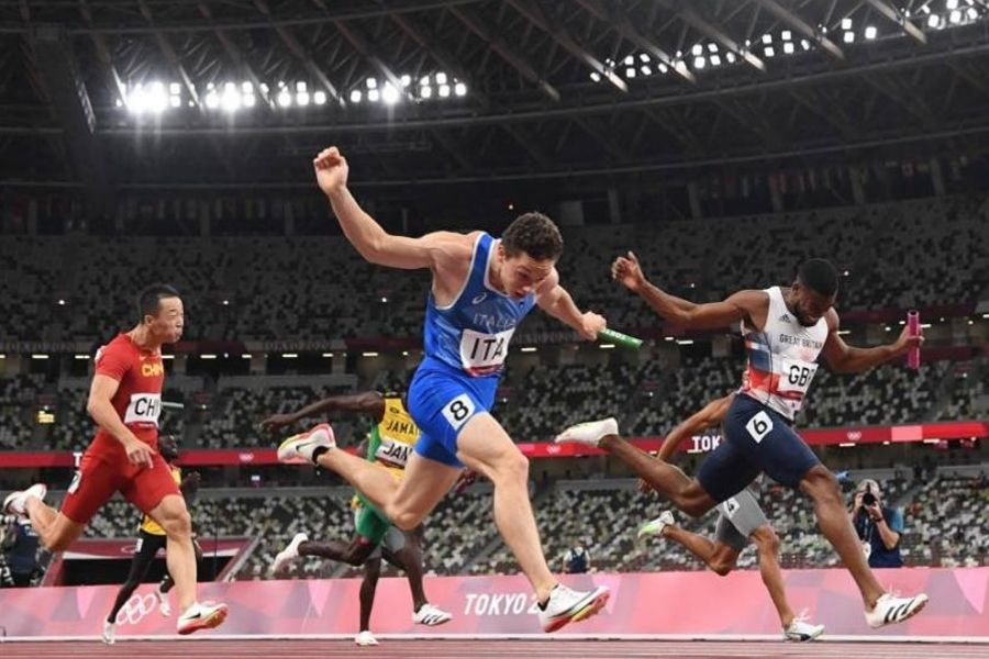 Filippo Tortu (foto World Athletics)