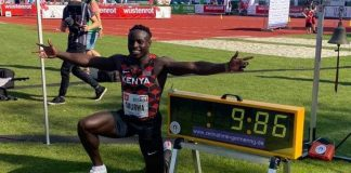 Ferdinand Omanyala (foto Reuters)