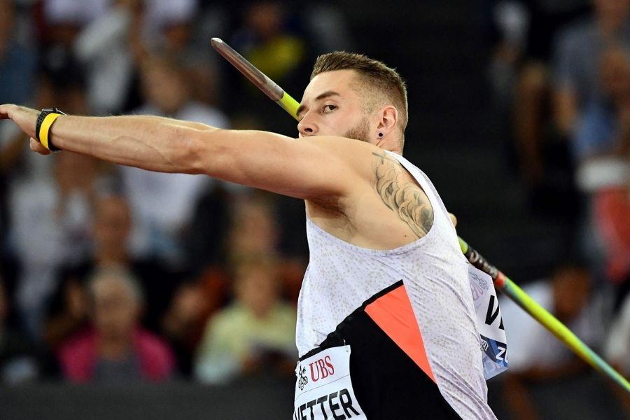 Johannes Vetter (foto World Athletics)