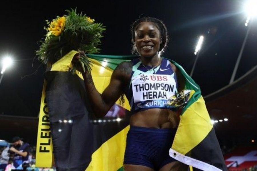 Elaine Thompson-Herah (foto World Athletics)