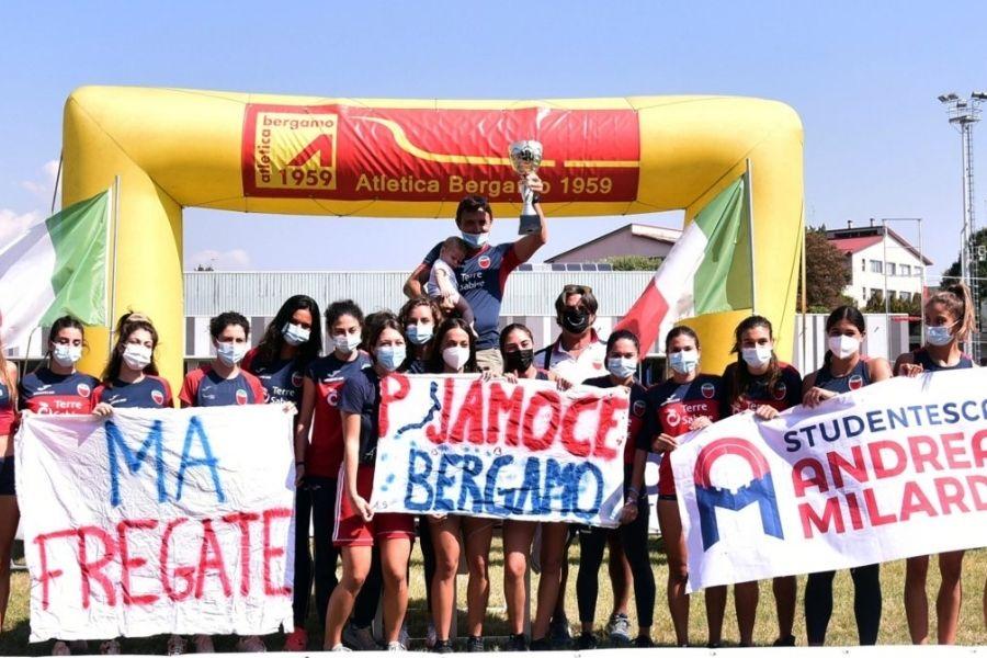 Squadra Studentesca Rieti (foto Maraviglia/Fidal Lombardia)