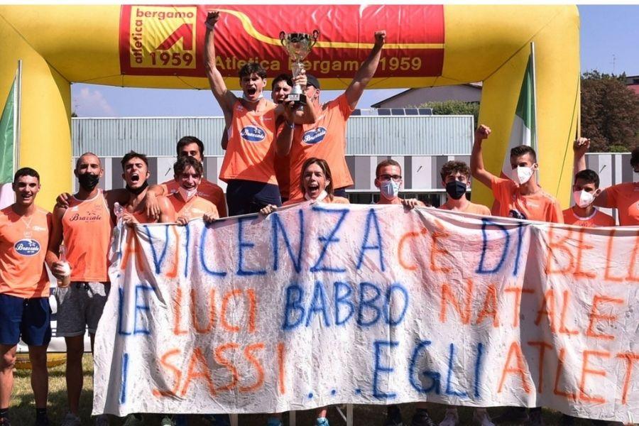 Squadra Atletica Vicentina (foto Maraviglia/Fidal Lombardia)