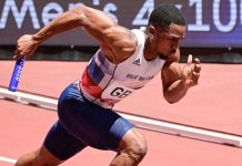 Chijindu Ujah (foto World Athletics)