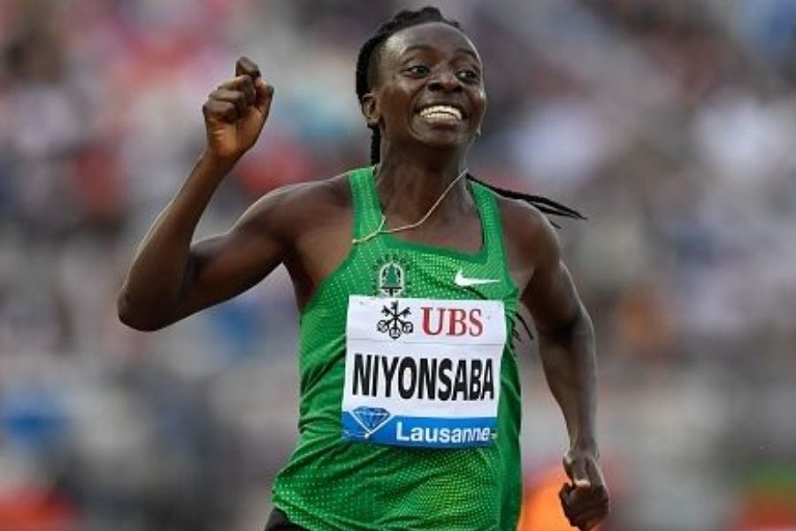 Francine Nyonsaba (foto World Athletics)