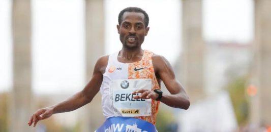 Kenenisa Bekele (foto organizzatori Berlino 2019)