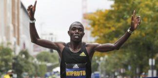 Benson Kipruto (foto organizzatori Boston Marathon 2021)