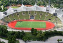 Stadio Olimpico Monaco (vista drone)